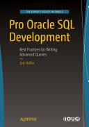 Pdf Pro Oracle SQL Development Telecharger