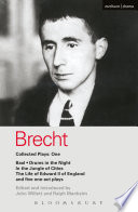 Brecht Collected Plays  1