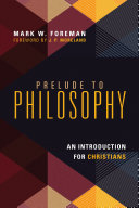 Pdf Prelude to Philosophy
