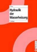 Hydraulik der Wasserheizung