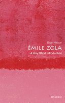 mile Zola  a Very Short Introduction