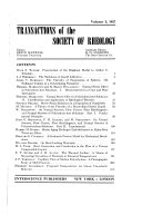 Transactions of the Society of Rheology