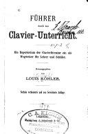 Führer durch den Clavier-Unterricht