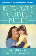 Jo Frost's Toddler Rules Pdf/ePub eBook