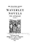 Waverley Novels The Antiquary