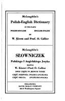 McLaughlin s Polish English dictionary