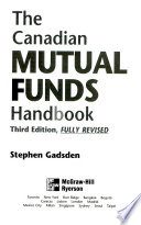 Canadian Mutual Funds Handbook