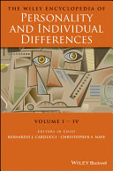 The Wiley Encyclopedia of Personality and Individual Differences, Set Pdf/ePub eBook