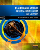 Readings   Cases in Information Security  Law   Ethics