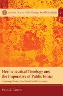 Hermeneutical Theology and the Imperative of Public Ethics [Pdf/ePub] eBook