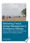 Rethinking Faecal Sludge Management in Emergency Settings
