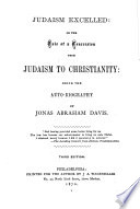 Judaism Excelled  Or  The Tale of a Conversion from Judaism to Christianity