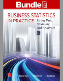 Loose Leaf Business Statistics in Practice with Connect Access Card Book