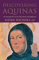 Discovering Aquinas