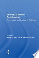 Efficient Comfort Conditioning
