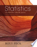 Preliminary Edition of Statistics  Learning from Data  Book Only