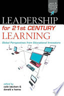 Leadership for 21st Century Learning Pdf/ePub eBook