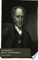 A memoir of the rev. John Hodgson