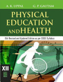 Physical Education And Health Class 12