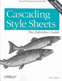Cascading Style Sheets: The Definitive Guide