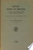 Ḫāliṣ's Story of Ibrāhīm