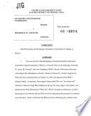 Frederick W Anton Iii Securities And Exchange Commission Litigation Complaint