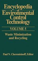 Encyclopedia of Environmental Control Technology  Volume 5 Book