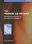 The Person as Patient Book