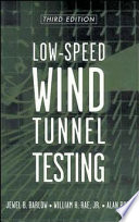 Low Speed Wind Tunnel Testing Book