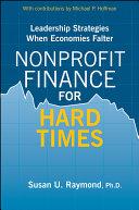 Nonprofit Finance for Hard Times Pdf/ePub eBook