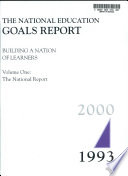The National Education Goals Report