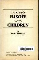 Fielding's Europe with Children