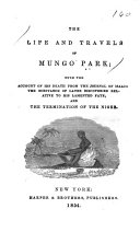 The Life and Travels of Mungo Park