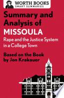 Summary and Analysis of Missoula Book PDF