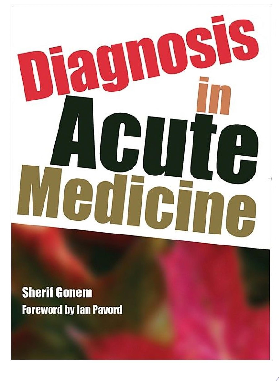Diagnosis in Acute Medicine