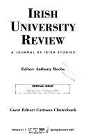 Irish University Review Book
