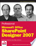 Professional Microsoft Office Sharepoint Designer 2007 Book PDF