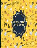 Petty Cash Log Book Book