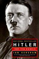 Hitler  1889 1936