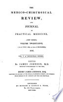 The Medico chirurgical Review