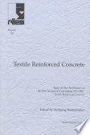 Report 36  Textile Reinforced Concrete   State of the Art Report of RILEM TC 201 TRC