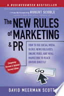 The New Rules Of Marketing And Pr Book PDF
