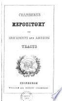 Chambers s Repository of Instructive and Amusing Tracts
