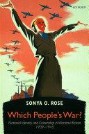 Which People's War? Pdf/ePub eBook