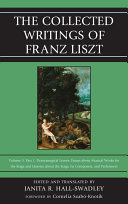 The Collected Writings of Franz Liszt