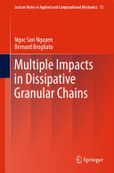 Pdf Multiple Impacts in Dissipative Granular Chains