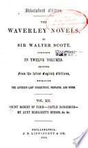 Count Robert of Paris  Castle Dangerous  My Aunt Margaret s mirror  The tapestried chamber  Death of the Laird s Jock