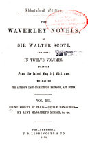 Count Robert of Paris. Castle Dangerous. My Aunt Margaret's mirror. The tapestried chamber. Death of the Laird's Jock