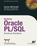 Pdf Mastering Oracle PL/SQL Telecharger