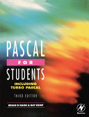 Pdf Pascal for Students (including Turbo Pascal) Telecharger